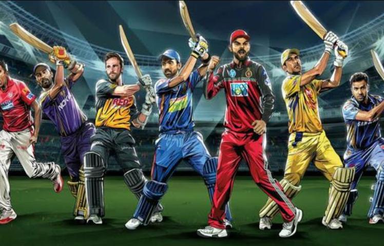 Indian Premier League 2020 artist rendition of the teams